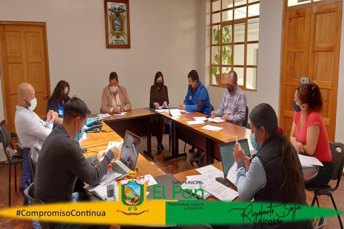 Sesión Extraordinaria de Concejo Cantonal